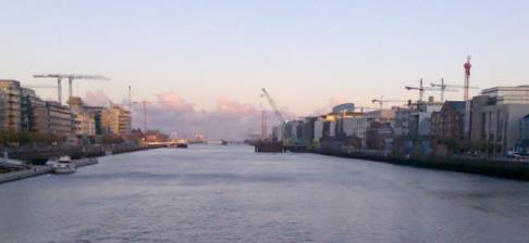 The Docklands from Sean O'Casey Bridge