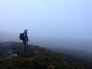 Brendan surveying his territory.