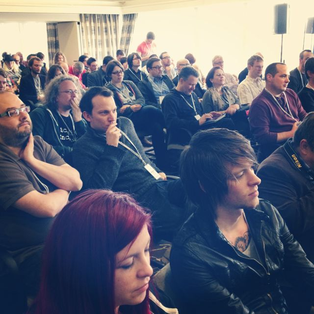 QED: Audience at the Robin Ince / Brendan O'Neill debate