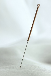 Acupuncture Needle, CC Licenced via Acid Pix