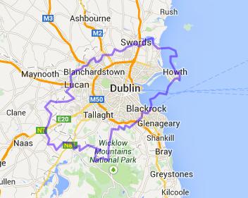 Map Ibiza Dublin 20386