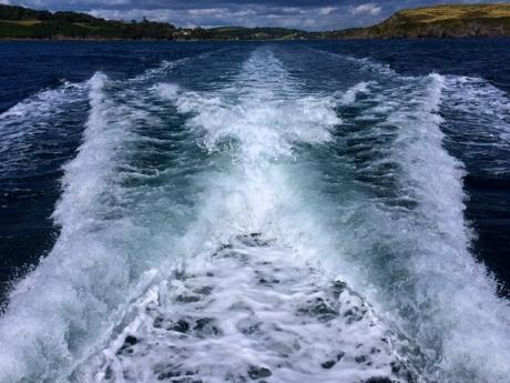20140825 - Boat Wake