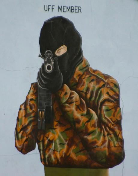 """""""Gunman Mural"""" CC Licenced by Still Burning (Flickr)"""