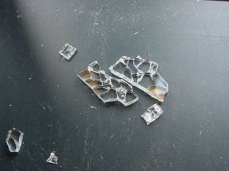 Broken Glass Pieces  by Jes Reynolds (CC Licenced, Flickr)