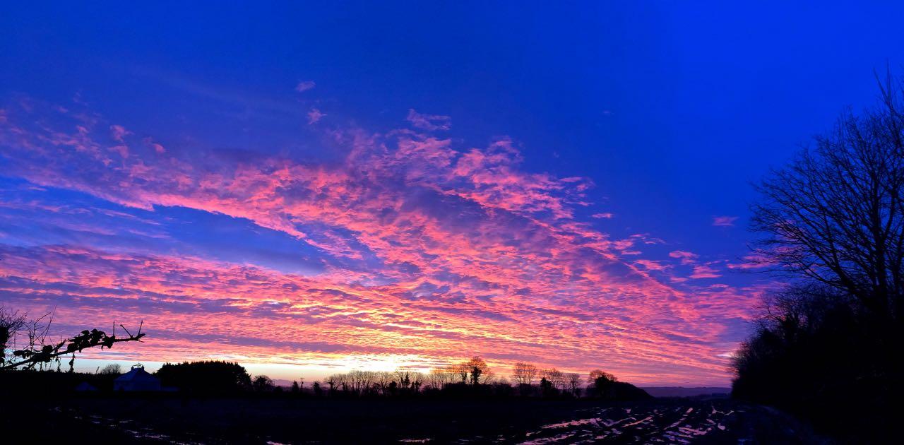 Electric Sunrise, Glanmire, Co. Cork