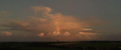 Ballycotton Island and Rainbow, Co. Cork