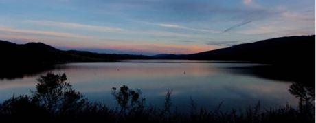 Crystal Springs Reservoir, California